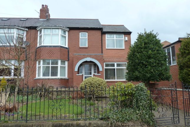4 bed semi-detached house to rent in Clovelly Gardens, Bedlington NE22