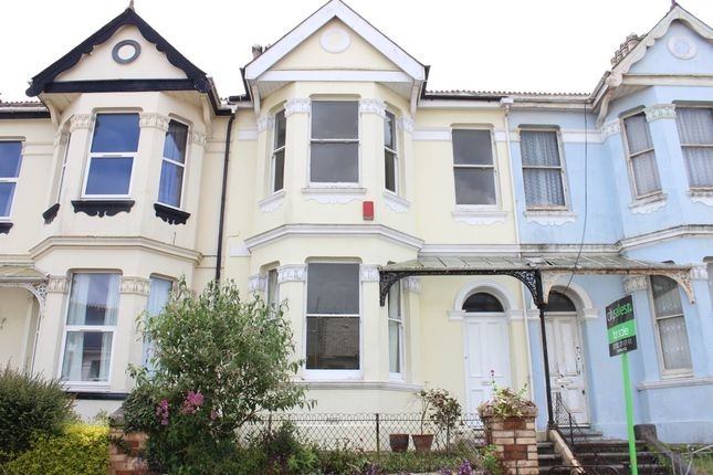 Thumbnail Terraced house for sale in Salcombe Road, Plymouth