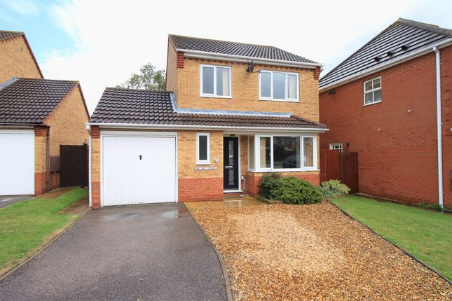 Thumbnail Detached house for sale in Hay Close, Rushden
