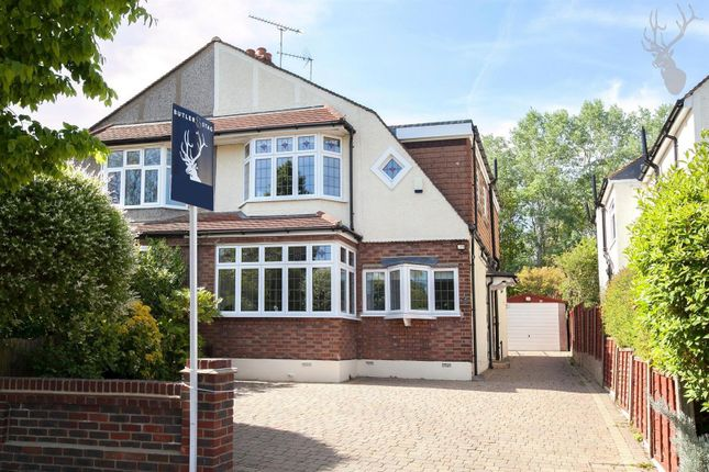 Thumbnail Semi-detached house for sale in Woodland Way, Theydon Bois, Epping, Essex