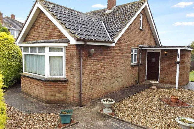 Thumbnail Detached bungalow for sale in Hookhams Path, Wollaston, Northamptonshire