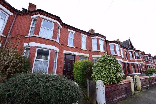 Thumbnail Terraced house for sale in Brompton Avenue, Wallasey, Merseyside