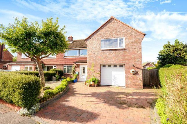 Thumbnail Semi-detached house for sale in Shaston Crescent, Dorchester, Dorset