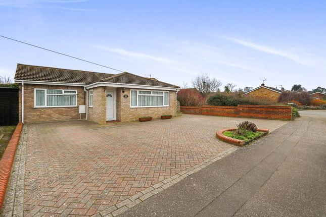Thumbnail Detached bungalow for sale in Kerridges, East Harling, Norwich