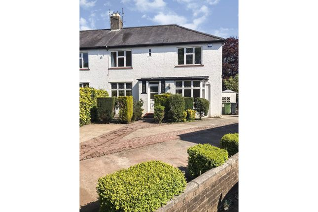 Thumbnail Semi-detached house for sale in Charlotte Square, Rhiwbina