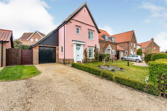 Thumbnail Semi-detached house for sale in Chediston Street, Halesworth