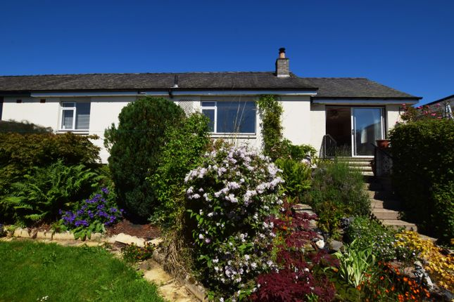 Thumbnail Semi-detached bungalow for sale in Braeside Road, Ballinluig, Pitlochry