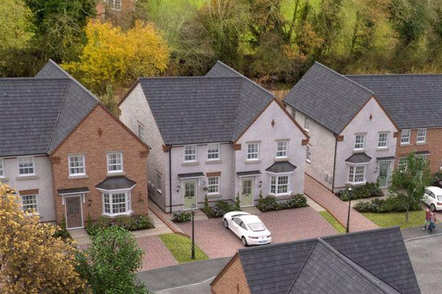 Thumbnail Semi-detached house for sale in Alveley View, Plot 15, Kidderminster Road, Bridgnorth, Shropshire