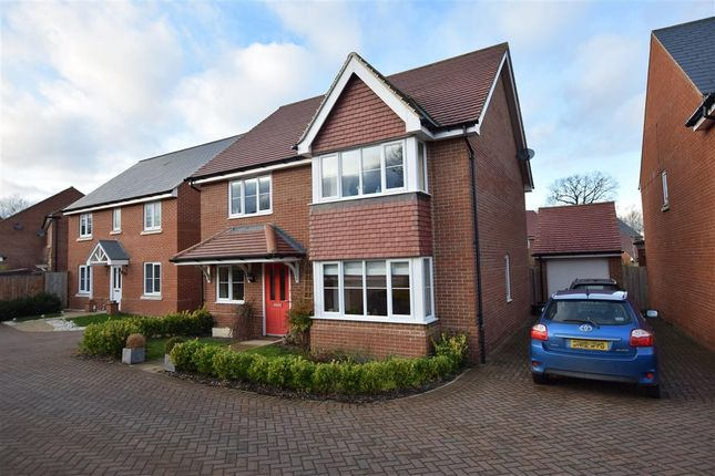 Thumbnail Detached house for sale in Grazeley Road, Three Mile Cross, Reading