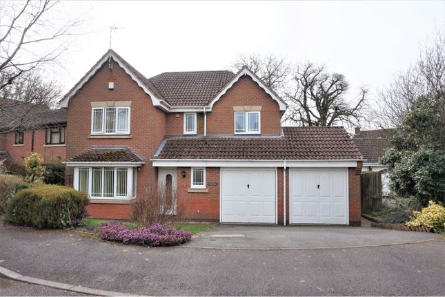 Thumbnail Detached house for sale in Teal Close, Coalville