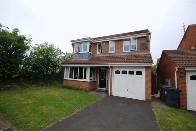 Thumbnail Detached House For Sale In Ravens Hill Drive Ashington