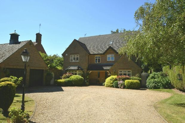 Thumbnail Detached house for sale in Golf Lane, Church Brampton, Northamptonshire
