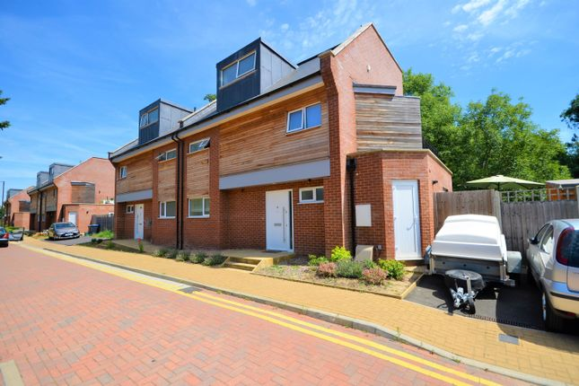 Thumbnail Semi-detached house for sale in Waterside Close, Wembley, Middlesex
