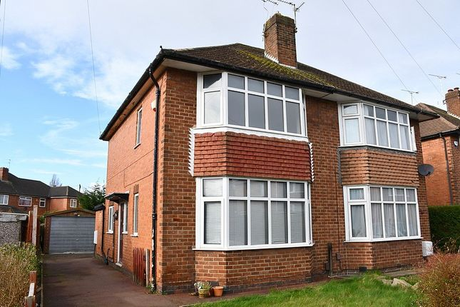 Thumbnail Semi-detached house to rent in Rowsley Avenue, Normanton, Derby
