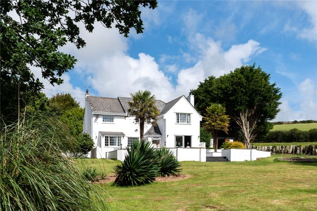 Thumbnail Detached house for sale in St. Allen, Truro, Cornwall