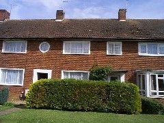 Thumbnail Terraced house to rent in Marley Road, Welwyn Garden City