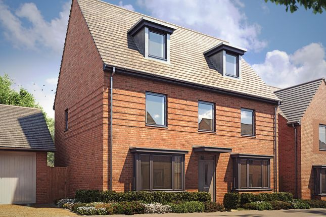 "Thumbnail Detached house for sale in ""Emerson"" at Langaton Lane, Pinhoe, Exeter"