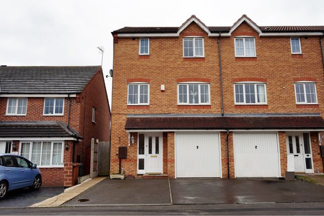 Thumbnail End terrace house for sale in Wheelwright Close, Wednesbury