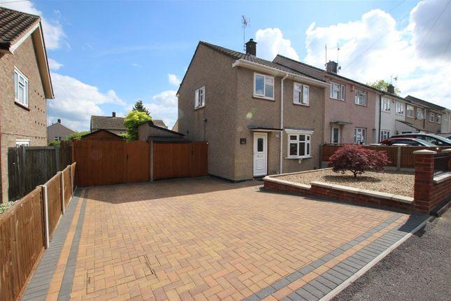 Thumbnail End terrace house for sale in Trefoil Close, Luton