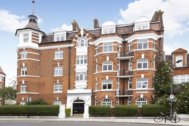 Exterior of Hurlingham Court Mansions, Hurlingham Road, Parsons Green, Fulham SW6