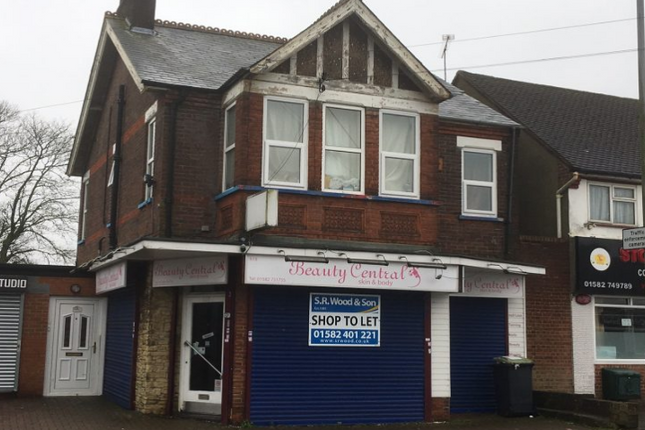 Thumbnail Retail premises to let in 618 Hitchin Road, Luton