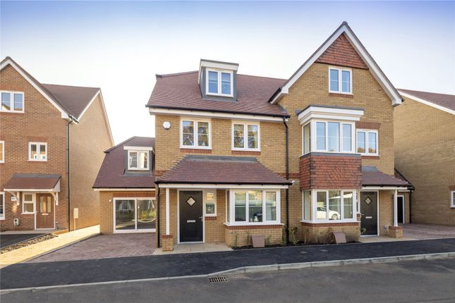Thumbnail Property for sale in Felcott Road, Hersham, Walton-On-Thames, Surrey