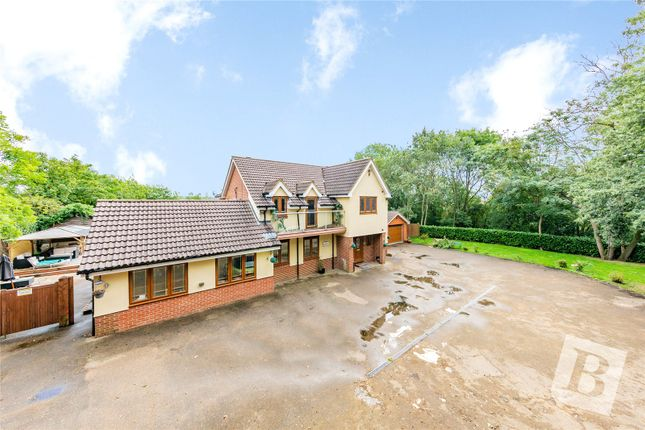 Thumbnail Detached house for sale in Broxhill Road, Havering-Atte-Bower, Romford