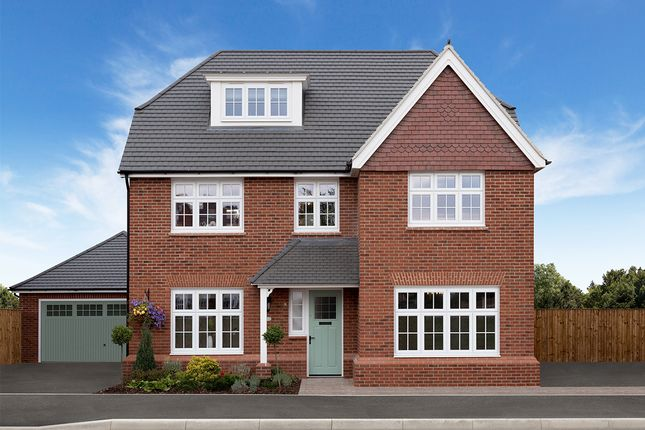 "Thumbnail Detached house for sale in ""Highgate"" at Chaul End Village, Caddington, Luton"