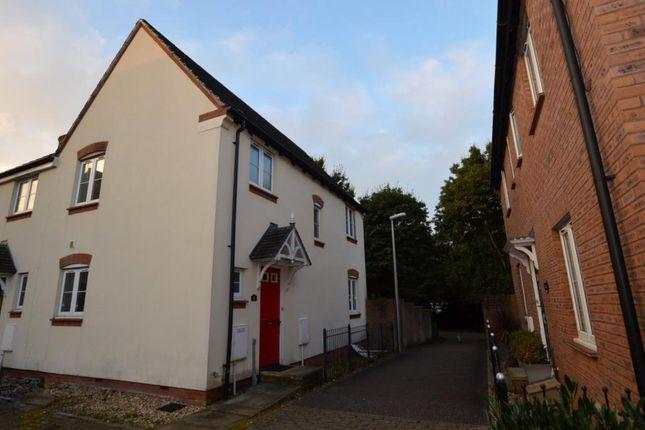 Thumbnail Semi-detached house for sale in Hawks Drive, Tiverton, Devon