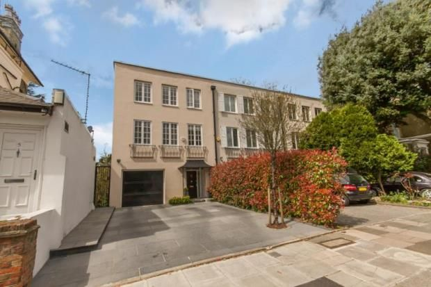 Thumbnail End terrace house for sale in North Grove, Highgate Village, London