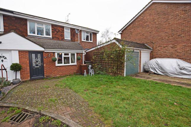 Thumbnail End terrace house for sale in Meadowdown Close, Hempstead, Gillingham