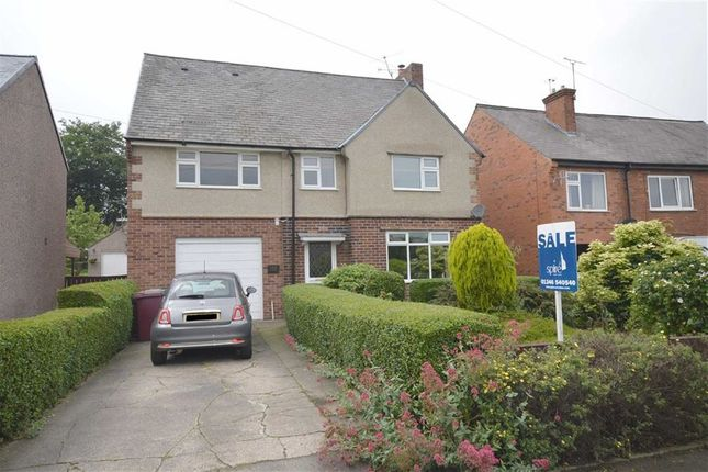 Thumbnail Detached house for sale in 152, North Wingfield Road, Grassmoor, Chesterfield, Derbyshire