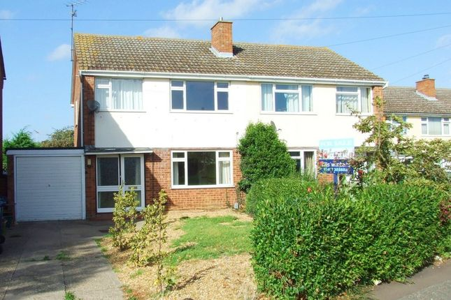 Thumbnail Semi-detached house to rent in Laburnum Way, St. Ives, Huntingdon