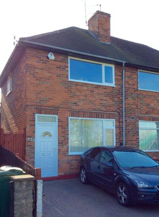 Thumbnail Semi-detached house to rent in Checkland Road, Thurmaston, Leicester