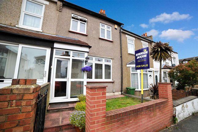 Thumbnail Terraced house for sale in Barnfield Road, Upper Belvedere, Kent