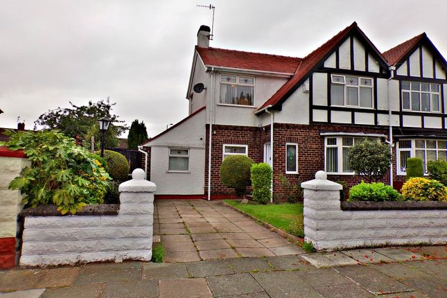 Thumbnail Semi-detached house for sale in The Wiend, Bebington, Wirral
