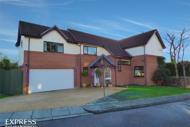 Thumbnail Detached house for sale in Broomlands, Wirral, Merseyside
