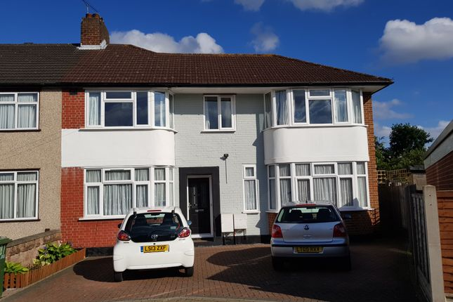 Thumbnail Semi-detached house to rent in Winchester Road, Harrow