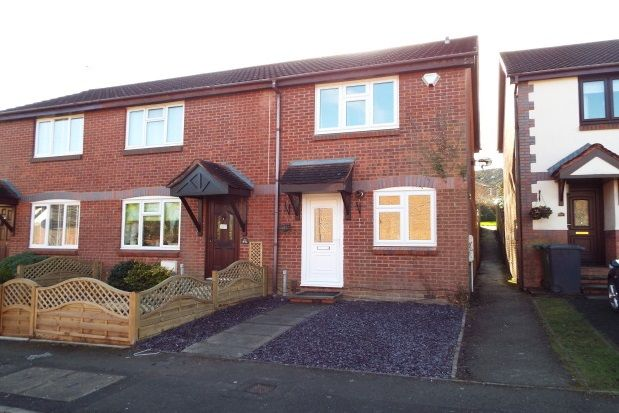 Thumbnail End terrace house to rent in Plymouth Close, Headless Cross, Redditch
