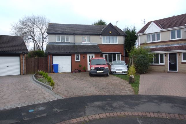 Thumbnail Detached house for sale in Porlock Court, Cramlington