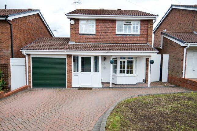 Thumbnail Detached house for sale in Furlong Meadow, Northfield, Birmingham