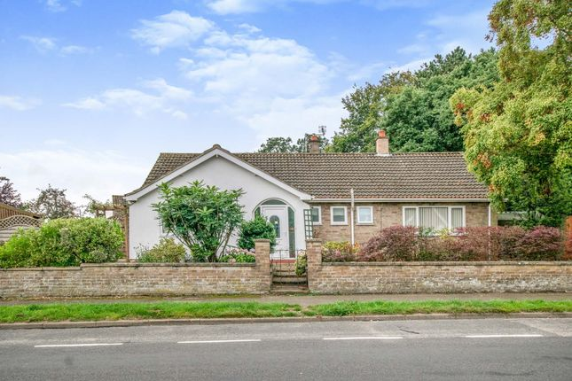 Thumbnail Detached bungalow for sale in Happisburgh Road, North Walsham