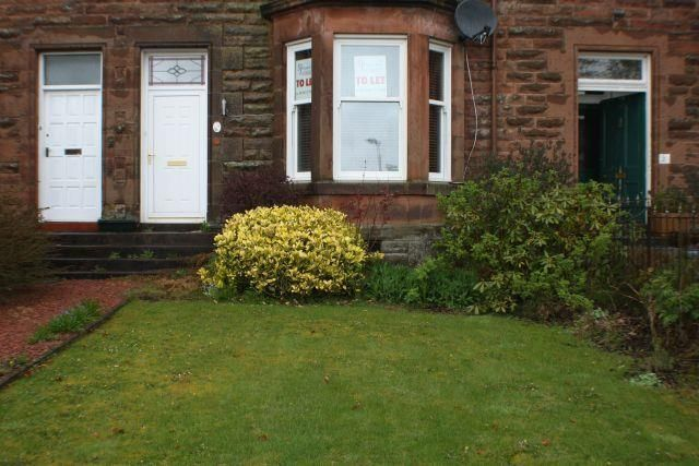 Thumbnail Flat to rent in Station Road, Carluke