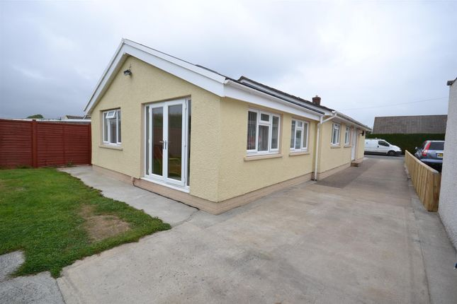 4 bed detached bungalow for sale in Greenhill Crescent, Haverfordwest