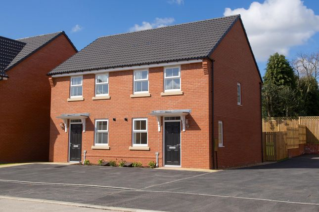 "Thumbnail Terraced house for sale in ""Winton"" at Black Firs Lane, Somerford, Congleton"