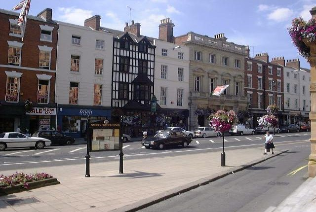 1 bed flat to rent in Bedford Street, Leamington Spa CV32