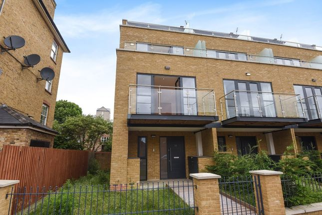 Thumbnail End terrace house for sale in Tiller Road, London