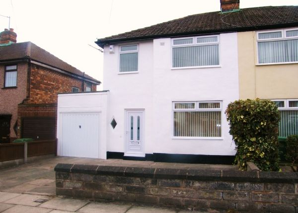 Thumbnail Semi-detached house to rent in Linkside Road, Woolton, Liverpool