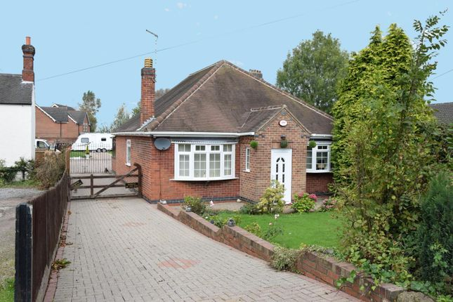 Thumbnail Bungalow for sale in Ashby Road, Woodville, Swadlincote, Derbyshire