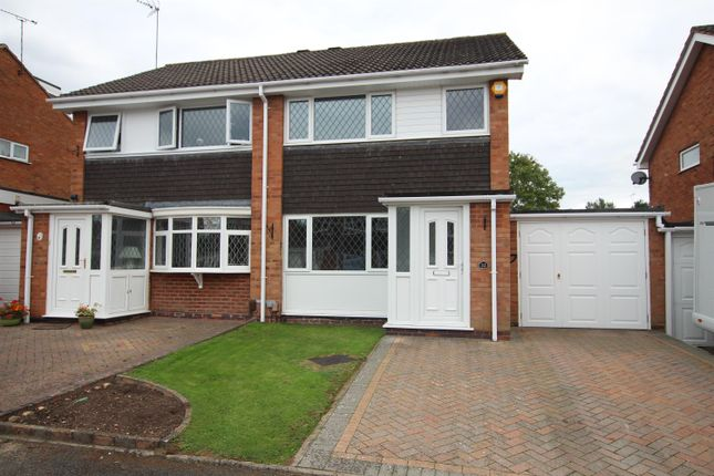 Thumbnail Semi-detached house to rent in Newent Close, Winyates Green, Redditch